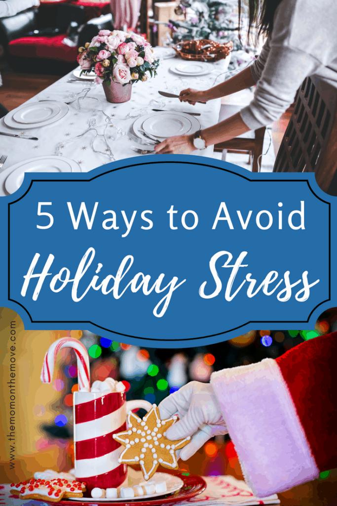 avoid holiday stress hero