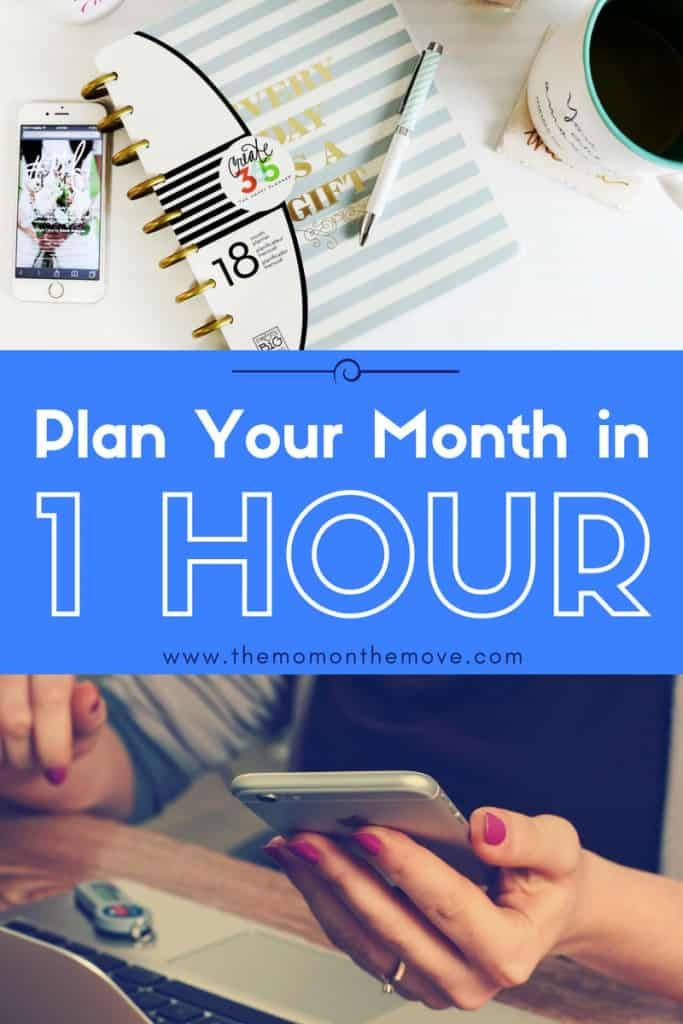 plan our month pin