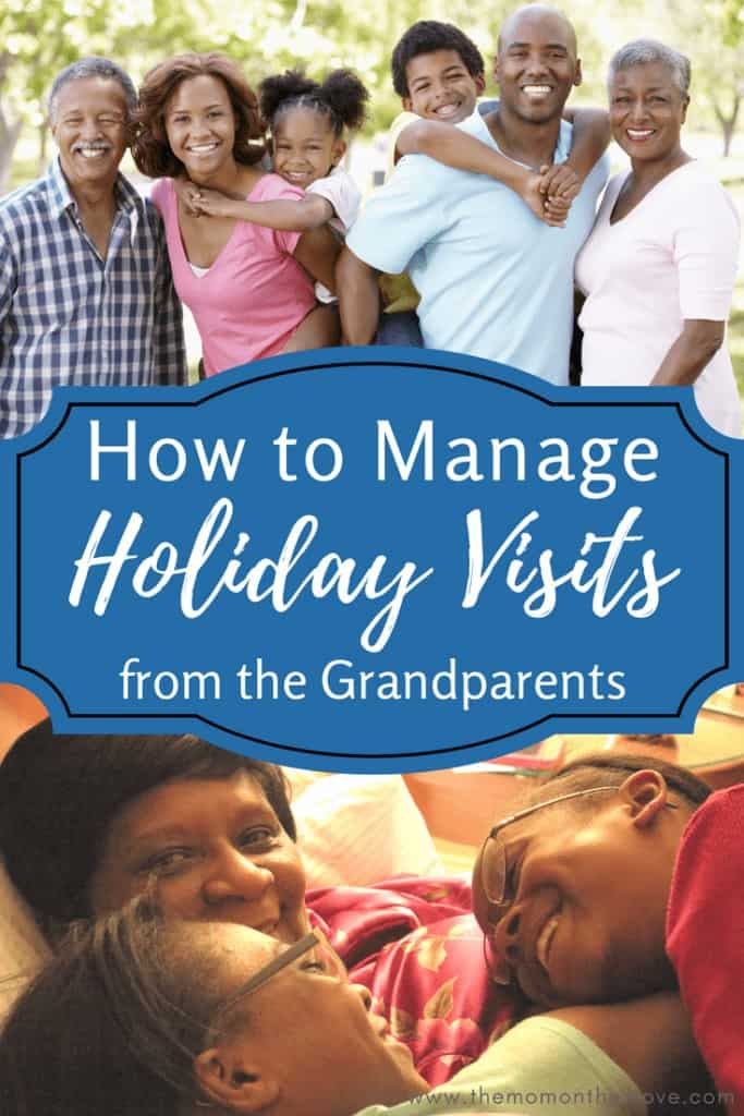 grandparents visits during the holidays