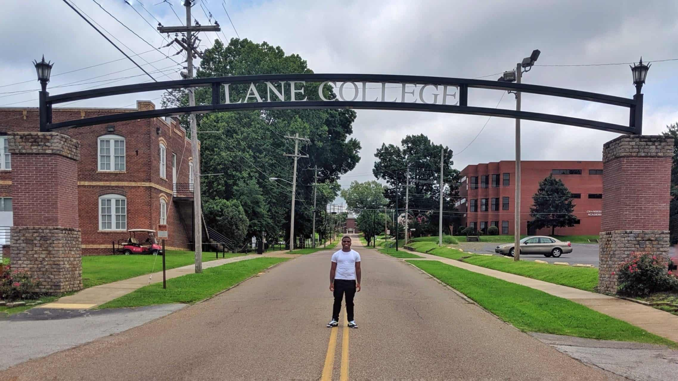 College Bound Son - Campus