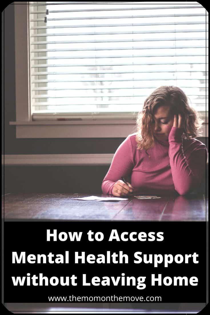 mental health support online pinnable