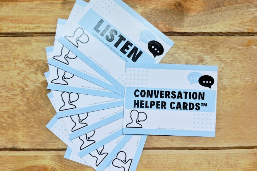 Conversation Helper Cards - self esteem